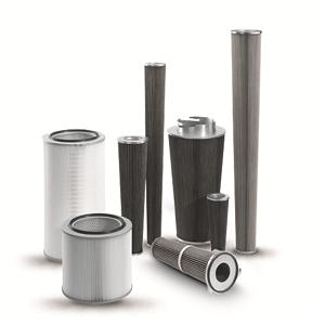 Wkłady filtracyjne i układy czyszczące